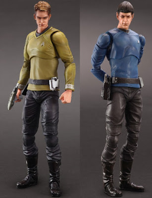 Star Trek Movie Kirk & Spock Play Arts Kai Action Figures by Square Enix America