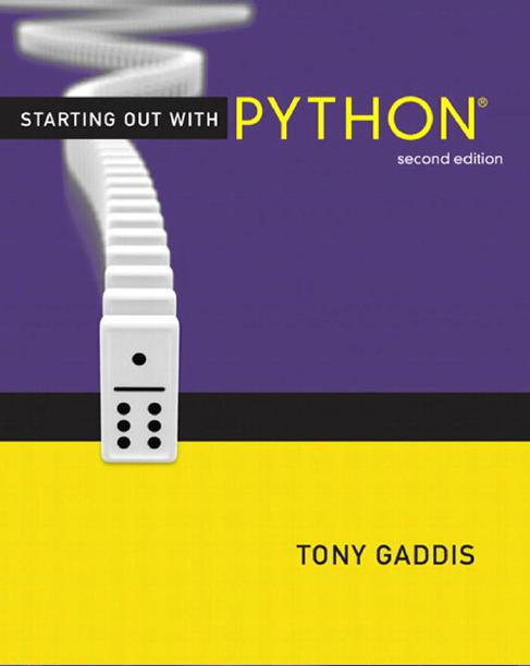 Starting Out With Python Second Edition