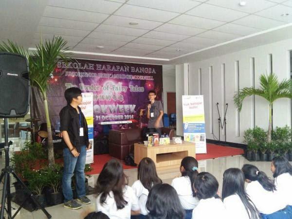Talkshow di Sekolah Harapan Bangsa