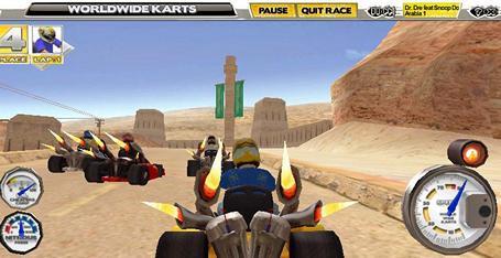 Game Balap Mobil: WWK - WorldWide Karts 1