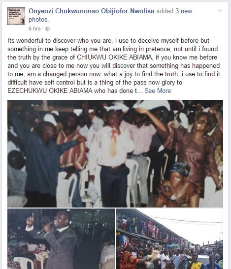 I Used to Deceive Myself Before as a Man of God - Pastor Turned Traditionalist Confesses (Photos)