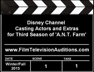 Disney Casting A.N.T. Farm Season 3 Actors Extras