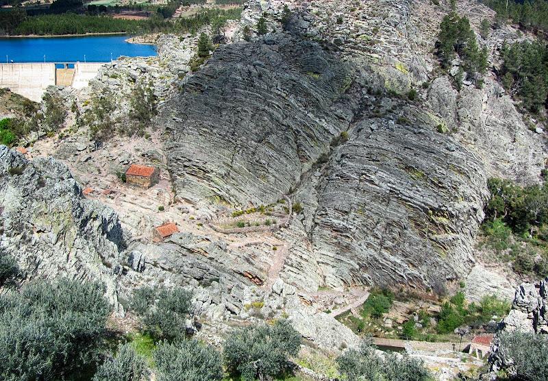 Vista a partir do castelo de Penha Garcia