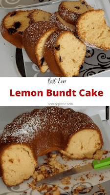 Sprinkled with icing sugar, this lemon fruit cake is every lemon lover's favorite dessert. It's full of lemon flavor, soft and tender.  Every bite will leave you wanting for more of this pound cake