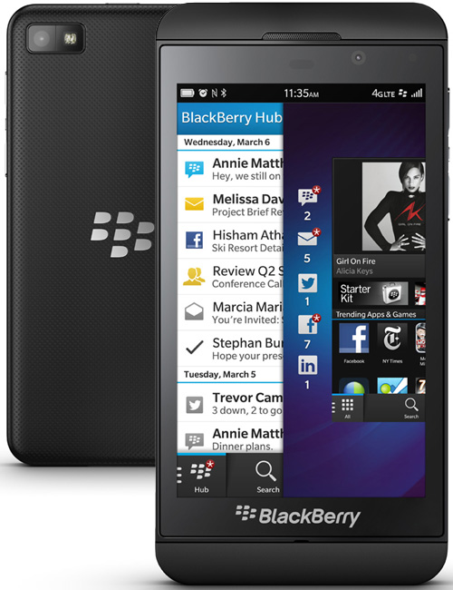 BlackBerry Z10 Pictures