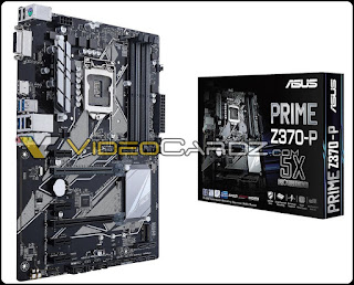 Lineup Motherboard ASUS Z370 Support Coffee Lake