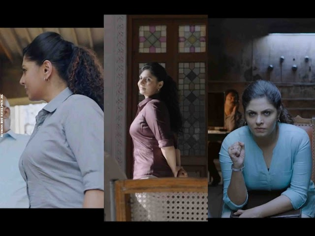 Malayalam Actress Asha Sarath Hot in Tight Shirt