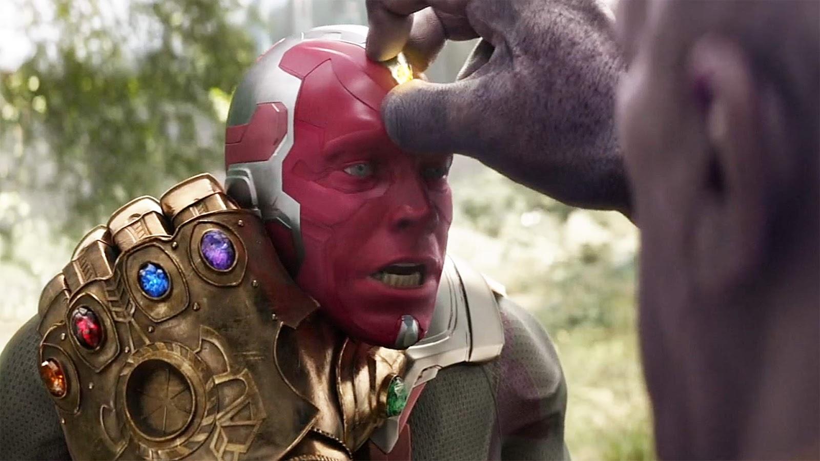 Thanos vs Vision