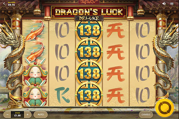 Main Gratis Slot Indonesia - Dragons Luck Deluxe Red Tiger Gaming