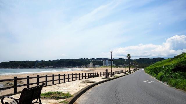 上総一ノ宮から御宿~勝浦~小湊~鴨川と外房の海岸線を走るサイクリングコース