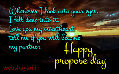 propose day quote with image