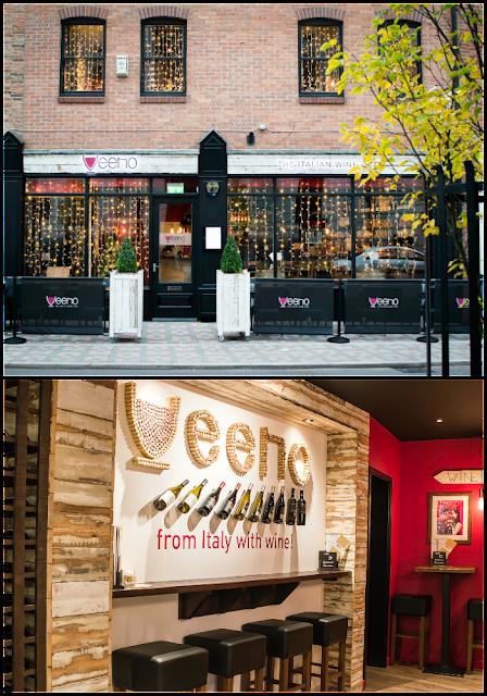 Veeno Italian wine cafe Leicester Wine Tasting Experience