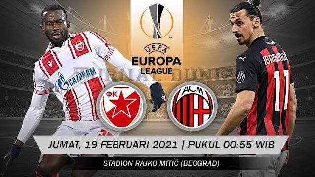 Prediksi Crvena Zvezda Vs AC Milan