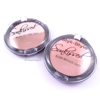 styli-style blush bronze duos - the beauty puff