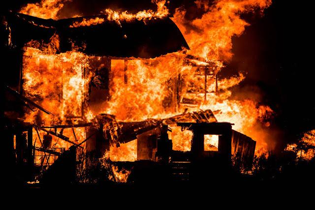 हिमाचल(Himachal) में मकान में लगी आग(Fire),आग की चपेट में आने से जिंदा जला 48 वर्षीय व्यक्ति