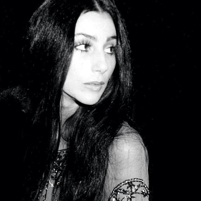 Cher's false eyelashes.