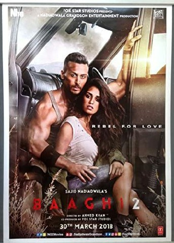 Baaghi 2 – (2018) Full Movie Download 480p 720p 1080p