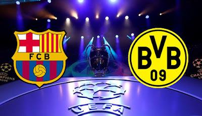 مشاهدة مباراة برشلونة وبوروسيا دورتموند