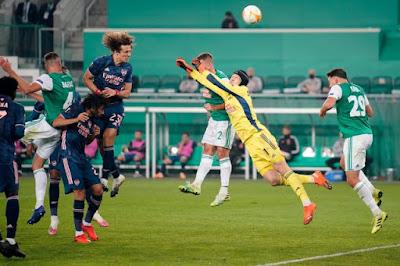 ملخص واهداف مباراة ارسنال ورابيد فيينا (2-1) الدوري الاوروبي