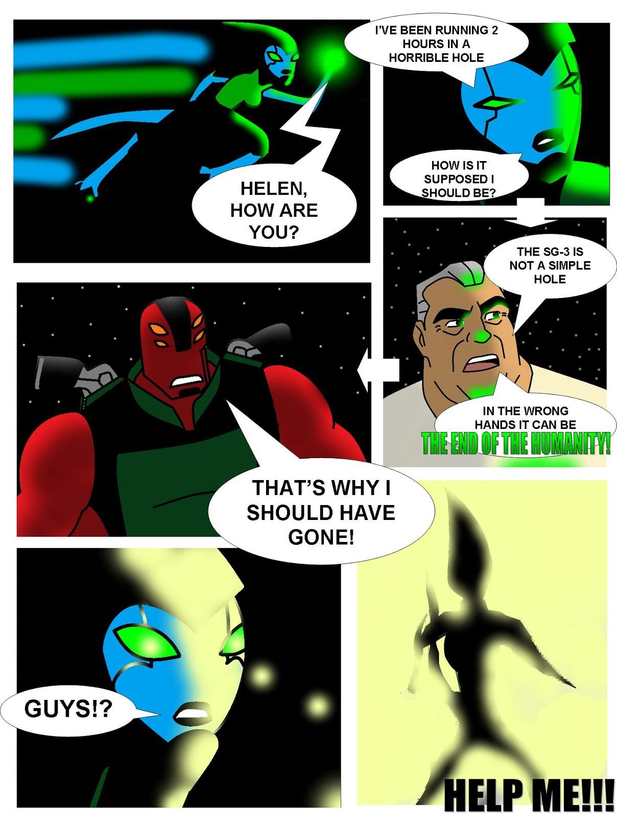 Ben 10: Alien n' Cold Justice: New Fanfic