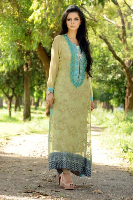 Sobia S Salon And Studio Islamabad: Latest Sobia Nazir Eid Party Dresses Collection 2013 For
