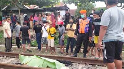 Pria Paruh Baya asal Purwokerto Selatan Tersambar KA Bangunkarta