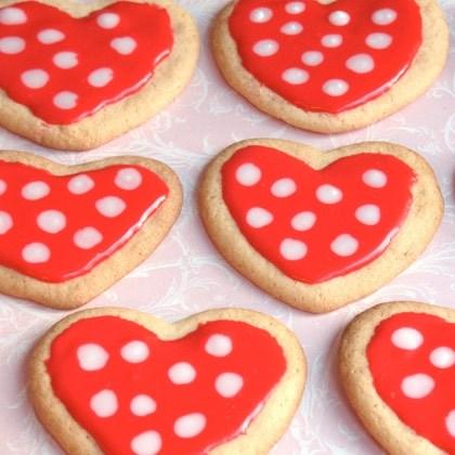 Minnie's Polka-Dot Cookies