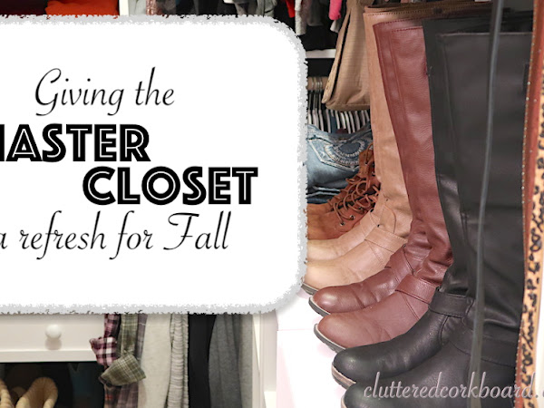 Giving my Closet a Refresh for the Fall Season