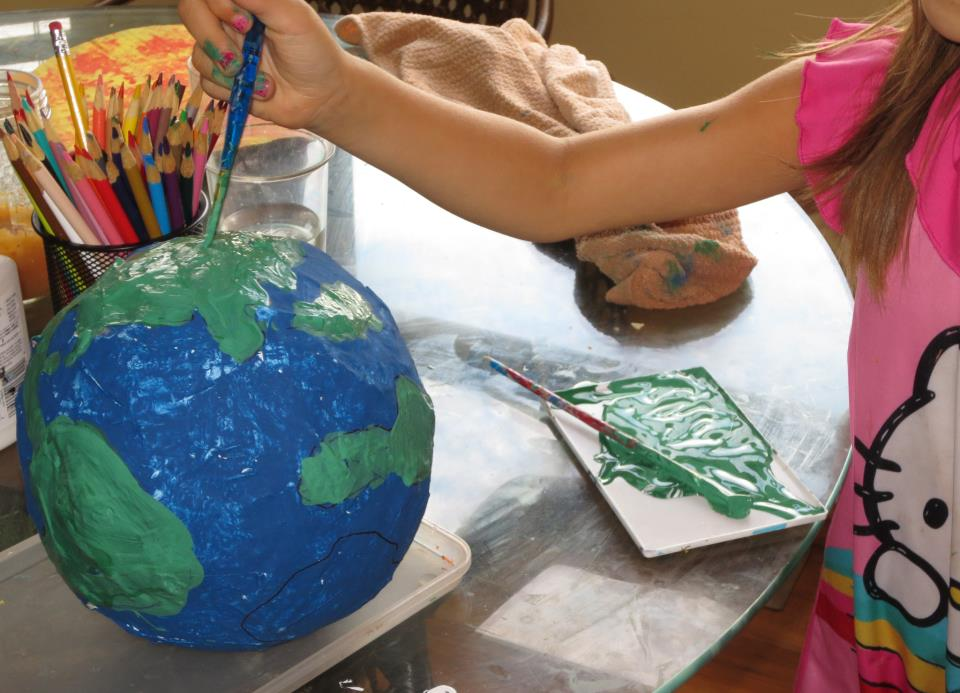 paper mache planets solar system-#26