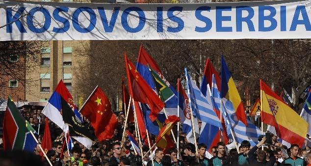 Шпанија, Румунија, Грчка, Словачка и Кипар одбијају више од 12 година да признају једнострану проглашену државу   Косово.     Осим Кипра, све земље су чланице и НАТО – а