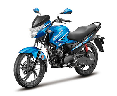 All New 2017 Hero Glamour FI Blue image