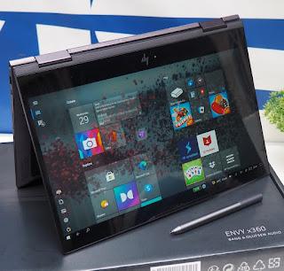 HP envy X360 ( HP13-AG0023TU ) Bekas