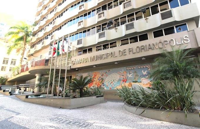 Em 26 segundos, Câmara aprova vale-alimentação para vereadores de Florianópolis