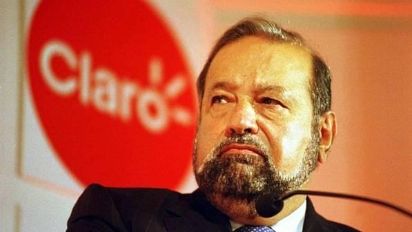 Carlos Slim, que é dono da Claro e da Embratel, além de ser acionista da NET, possui fortuna de US$ 74 bi