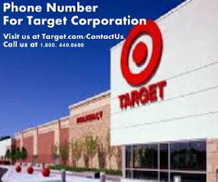 phone number for target corporation
