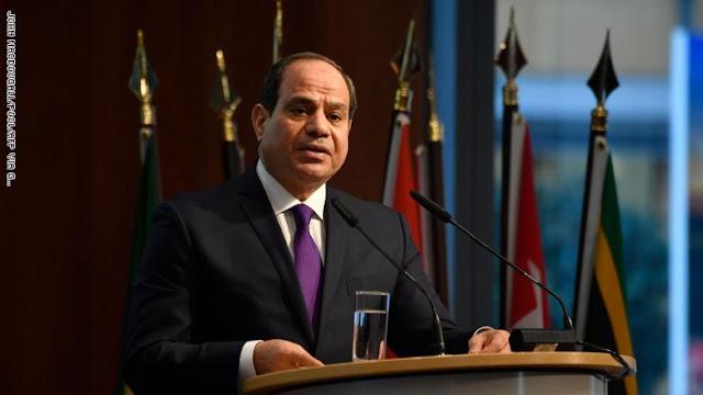 """السيسي: حكومة السراج في ليبيا أسيرة """"ميلشيات طرابلس"""" ولا تملك إرادة حرة"""