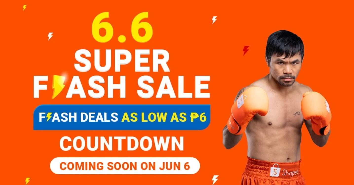 Shopee 6.6 Super Flash Sale Father's Day Gift Ideas!