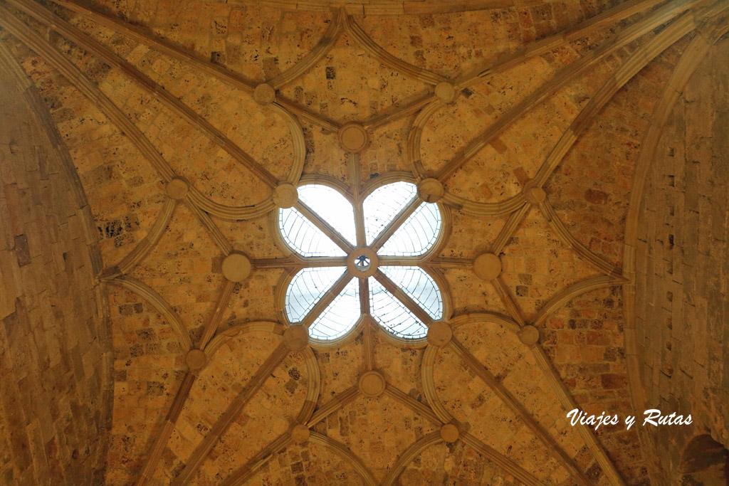 Bóveda del Monasterio de Santa María la Real, Aguilar de Campoo