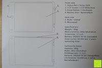 Funktionserklärung: DIGISON DS-9500 LCD 12 Zoll Writing Tablet / Grafiktablet / Schreibtafel (Schwarz, inkl. Stift)