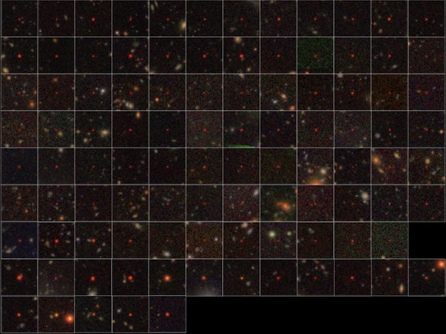 83 quasares - buracos negros - descobertos