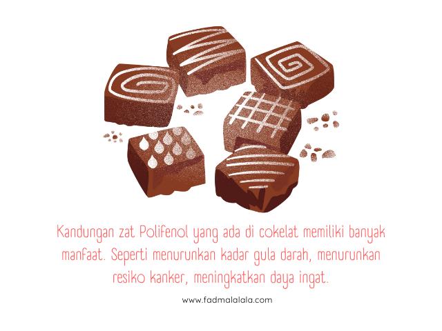 Manfaat Makan Cokelat