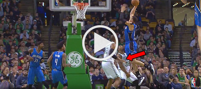 Aaron Gordon Goes Up & OVER Defender For The POSTER SLAM!! (VIDEO)