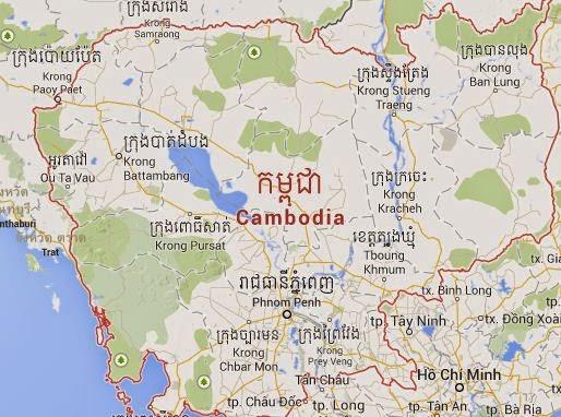 Peta Kamboja