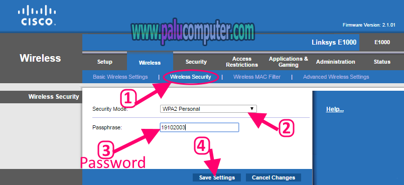 how to find cisco wifi password