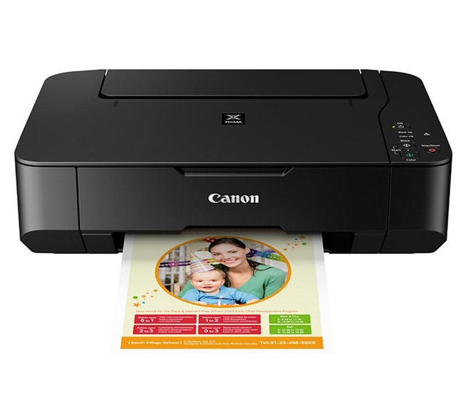 Canon Pixma MP230 connect to wireless network | en Rellenado