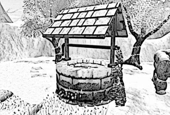 The frozen well