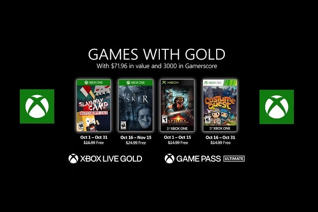 [Games with Gold]: Τέσσερα δωρεάν παιχνίδια για ακόμη ένα μήνα