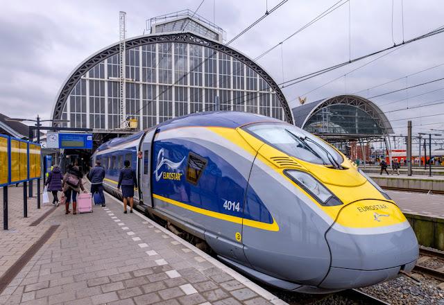 قطار مباشر من امستردام إلى لندن خلال ثلاث ساعات