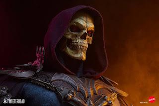 Masters of the Universe – Skeletor Life Size Bust, Tweeterhead