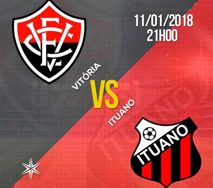 Assista Vitória x Ituano - Copa São Paulo de Futebol Júnior - Ao vivo (HD) 1